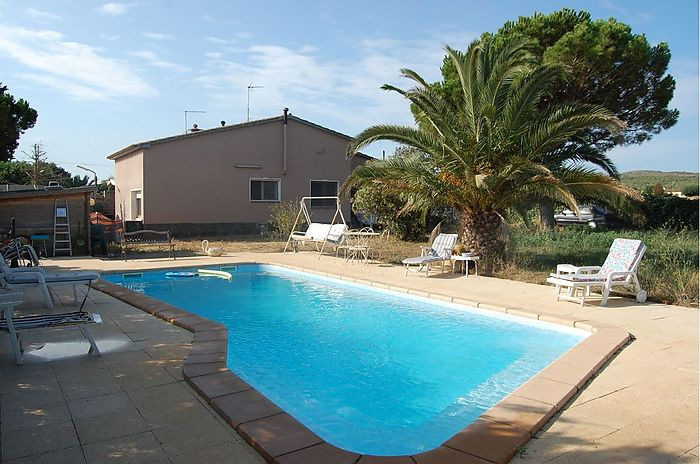 Country house with large terrain and swimming pool located at Viladamat